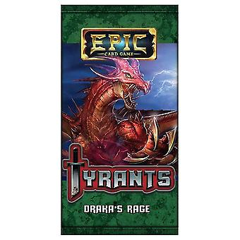 Epic Card Game Tyrants - Draka's Rage Expansion Pack