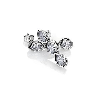 Emozioni Acqua D'Amore Triple Sterling Silver Earrings EE039
