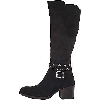 White Mountain Women's Shoes Paulina Fabric Almond Toe Knee High Fashion Boots