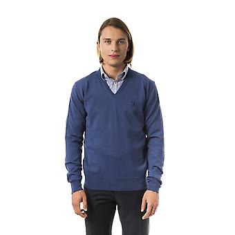 Uominitaliani Avio V-Neck Extrafine Sweater
