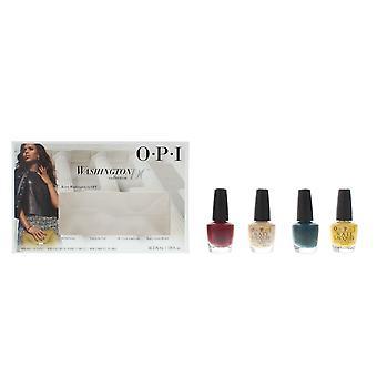 OPI Washington DC Collection - Mini Nail Lacquers 4 x 3.75ml Gift Set NEW.