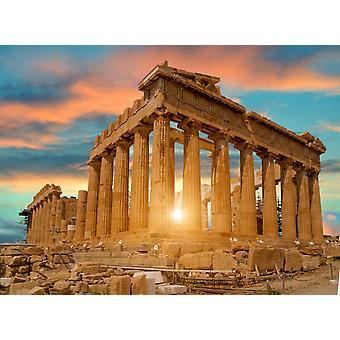 Tapetti Mural Parthenon Athens II