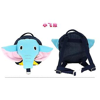 Anti-lost Baby Backpack, Cute Child Cartoon, Animal, Plush With Traction Rope
