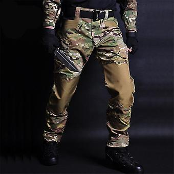 Tactical Pants Camouflage Military Casual, Combat Cargo Pant -water Repellent