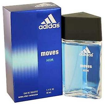 Adidas Moves By Adidas Eau De Toilette Spray 1.7 Oz (mężczyźni) V728-402998