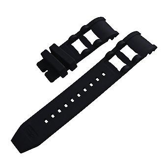 Strapsco bracelet de montre en caoutchouc en silicone pour plongeur russe invicta