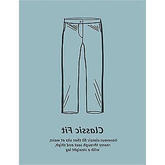 Essentials Men&s Classic-Fit Wrinkle-Resistant Veckad Chino Pant, Grå, 40W x 29L