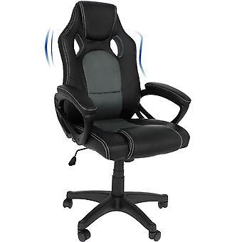 Ocazi Gamestoel / Bureaustoel - Ergonomisch - Gaming Chair - Gaming Stoel - Volwassenen/Kind - Instelbare Zithoogte - Grijs - Florida