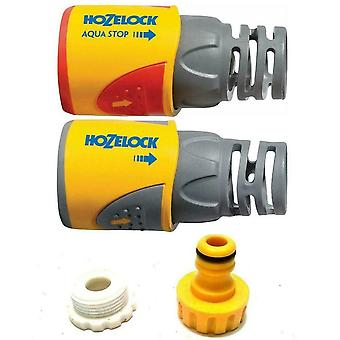 Hozelock Connector starter pack Tap Connector Hose End & AquaStop Connector PLUS