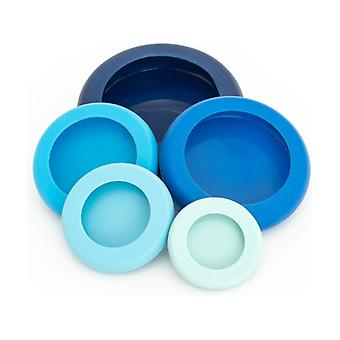 Set of 5 Lids - Ice Blue None