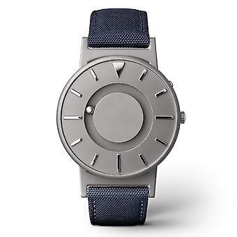 Eone Bradley Canvas Aqua & Grey Titanium Watch