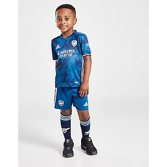 New adidas Boys' Arsenal FC 2020/21 Third Kit Blue