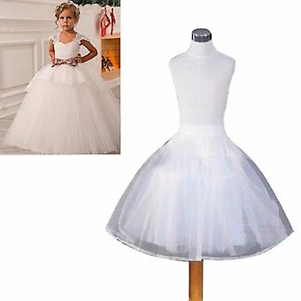 Accessoires de mariage Kids Petticoat Ball Gown Crinoline Skirt Petticoats In