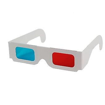 Universal Paper Anaglyph 3d Glasses