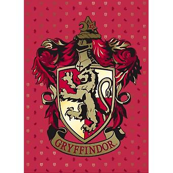 Harry Potter Gryffindor Embellished Card by Insight Editions
