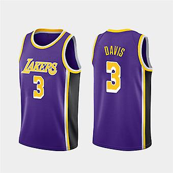 Los Angeles Lakers Davis Loose Baschet Jersey Tricouri Sport 3QY024