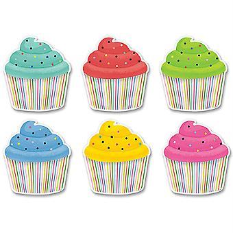 """Cupcakes 6"""" Cortes de diseñador, 36/Pack"""