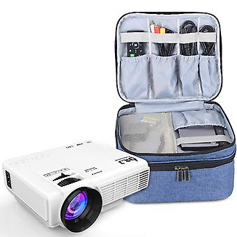 Luxja carrying bag for dr.q projector, projector carrying case compatible with xuanpad mini projecto