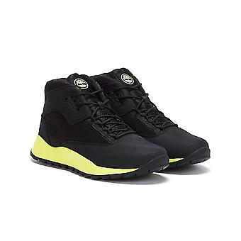 Timberland Solar Wave Mid Junior Black / Green Boots
