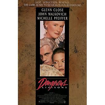 Dangerous Liaisons Movie Poster (11 x 17)