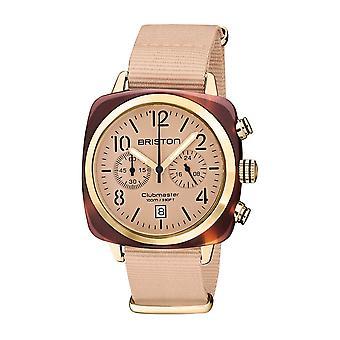Briston 20140.PYA.T.36.NTN Clubmaster Classic Terracotta Acetate Wristwatch