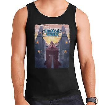 Jurassic Park Welcome To Jurassic World Entrance Men's Vest