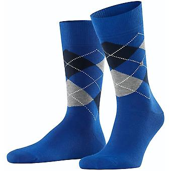 Burlington King Socks - Sapphire Blue