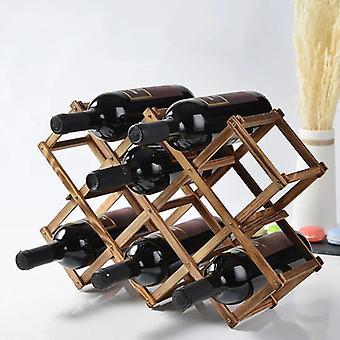 Wooden Red Wine Bottle Rack Holder