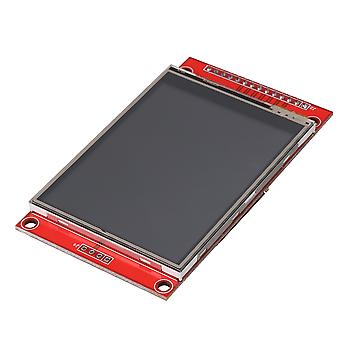 Lcd Touch Panel 240 x 320 2.8inch SPI TFT Module de port série avec PBC ILI9341 Rouge