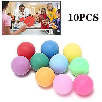 10kpl / pakkaus Värillinen Pingispallo (10kpl)