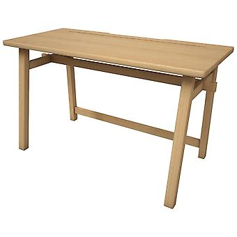 Sustainable Rubber Wood Computer Desk for Home and Office - Piranha Apollo One