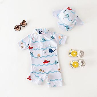 Vauvan uima-asut lippispuvussa