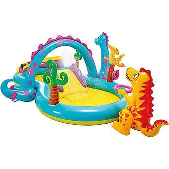 Intex Dinoland Play Center-Centro de juego de agua inflable