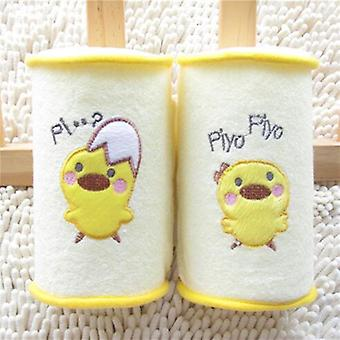 Comfortable Cotton Anti Roll Fixed Head Pillows Lovely Baby Safe Sleep