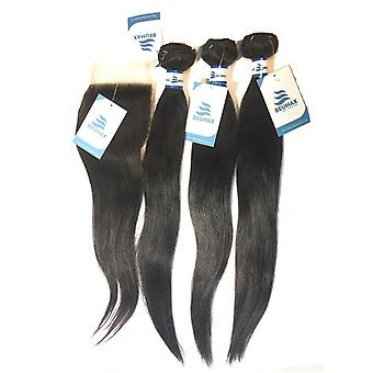 9a Grado Brasiliano 100% Non lavorata Virgin Human Hair Extension 1/3/4