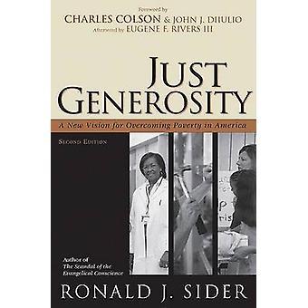 Just Anteliaisuus - Ro:n uusi visio köyhyyden voittamiseksi Amerikassa