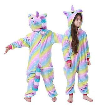 Kids Winter Pajamas Children Sleepwear Unicorn Kigurumi Onesies Boys Girls Blanket Sleeper Baby Costume