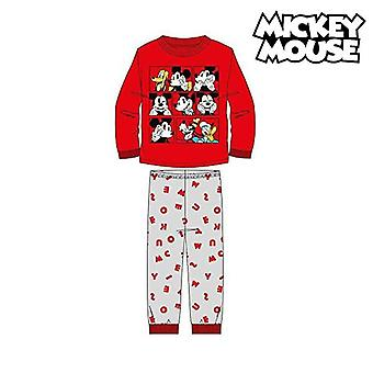 Children's pyjama mickey mouse red top
