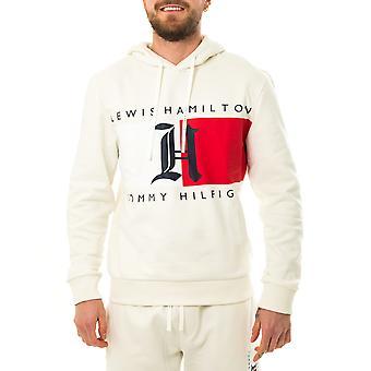 Sweat-shirt homme tommy jeans lh polaire logo hoodie mw0mw15355.ybi