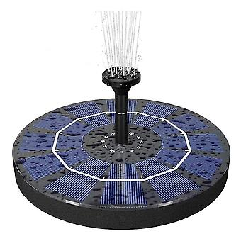 2.5w Solar Powered Standing Fountain Pump With 800 Mah Battery Backup