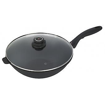 wokpfanne Induktion XD 30 cm Aluminium schwarz