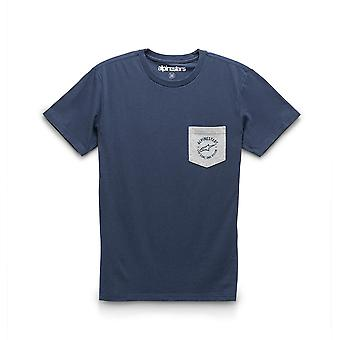 Alpinestars Men's T-Shirt ~ Spirited Premium navy