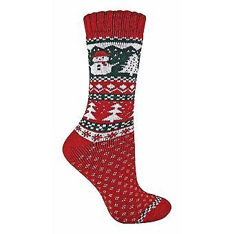 Ladies Wool Christmas Socks