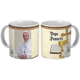 هدية القدح : البابا فرانسيس الكاثوليكية