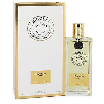 Patchouli Intense by Nicolai Eau De Parfum Spray (Unisex) 3.4 oz