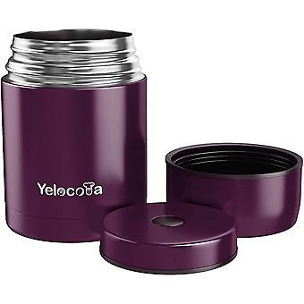 Wokex Lebensmittelflasche,800 ML BPA-freier Suppenbehälter mit weitem Mund,Edelstahl-Thermoskanne