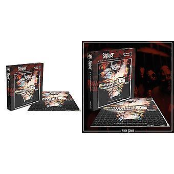 Slipknot Jigsaw Puzzle Vol 3 Los versos subliminales nueva pieza oficial negro 500