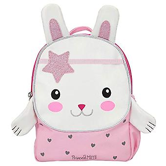 Depesche 11244 - Bunny-shaped Backpack, Princess Mimi, 10 x 21 x 26 cm, Color: Pink