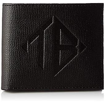 Ted Baker Meoe, mannen bi-fold reisaccessoires- portemonnee, zwart, one size