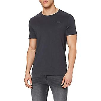 G-STAR RAW Block Originals Slim T-Shirt, Grå (Bly 336-389), XS Herr